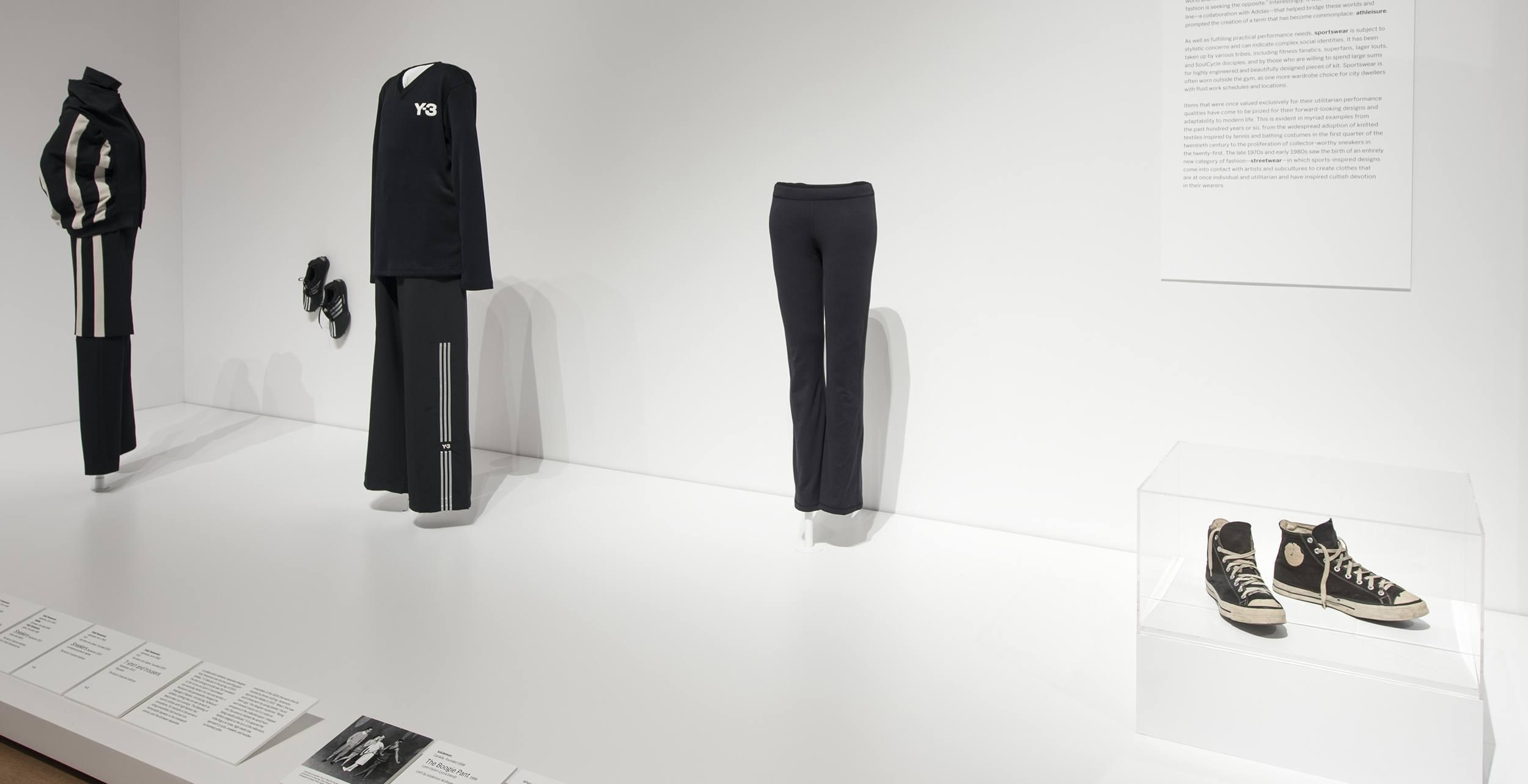 Lululemon yoga pants featured in MoMA fashion design exhibition