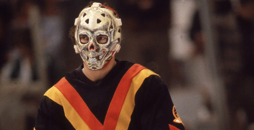 13 Terrifying Retro Hockey Goalie Masks Daily Hive Toronto