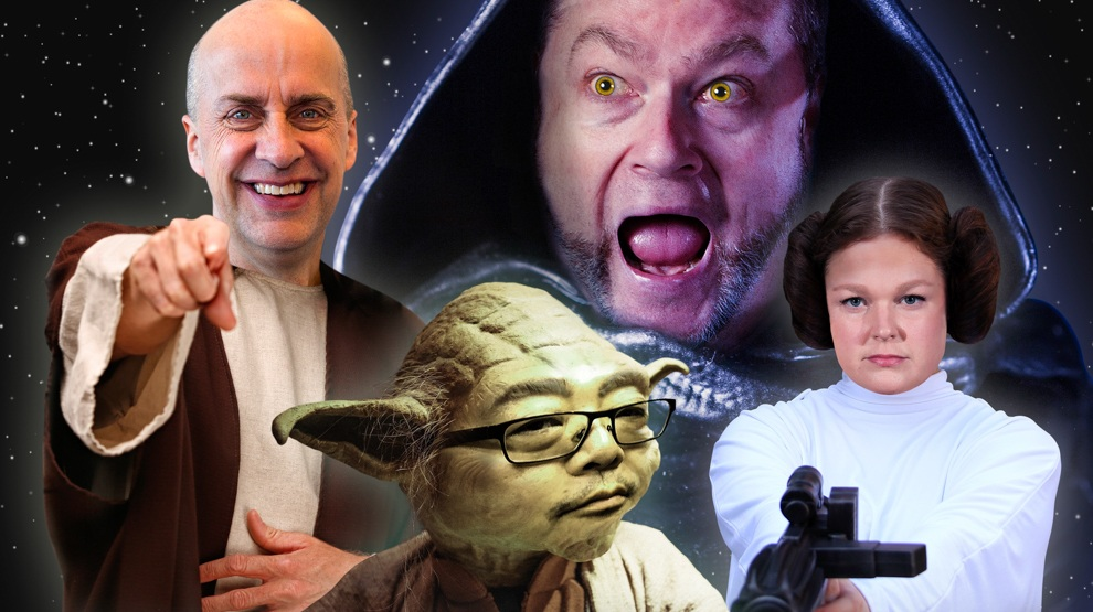 Comedy Review: Quick wits meet space ships in 'The Laugh Jedi'