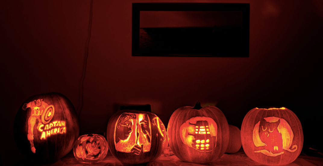 Send us a photo of your best pumpkins this Halloween