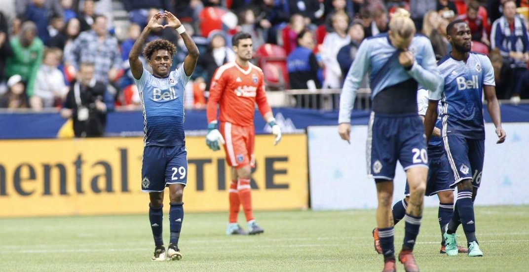 Playoff-bound Whitecaps one win away from clinching 1st place