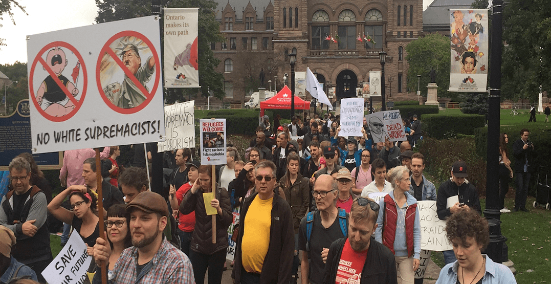Thousands of demonstrators showed up for unity rally at Queen's Park (PHOTOS)
