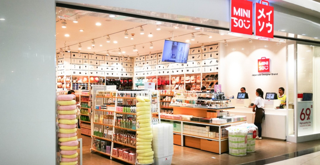 Chinese dollar store MINISO filing for bankruptcy in Canada: report