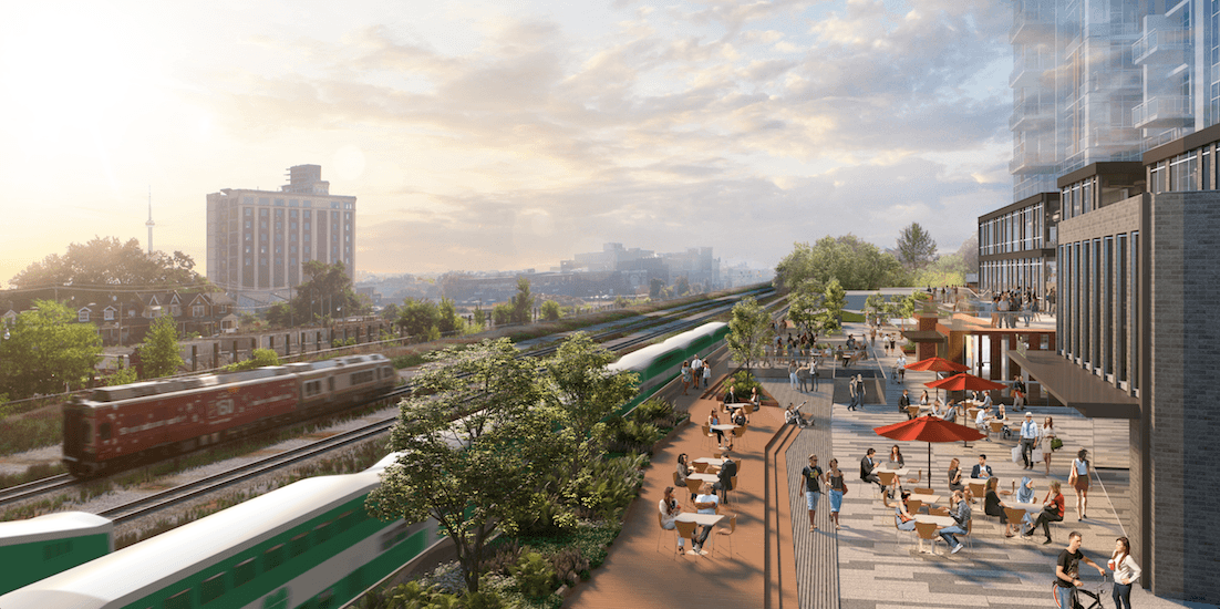 Preliminary development concepts for Bloor and Dundas community unveiled (RENDERINGS)