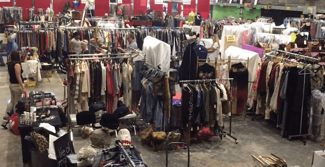 There is a huge movie wardrobe sale in Toronto this weekend