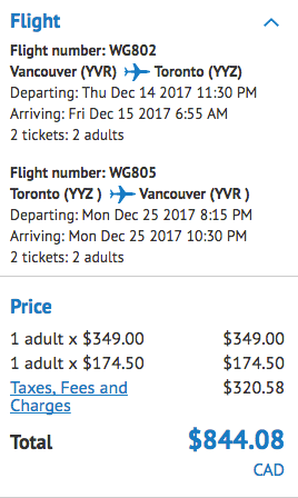 Toronto travel deal
