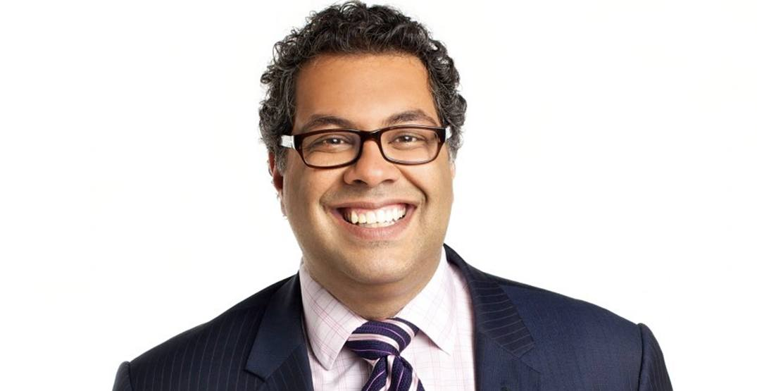 Naheed Nenshi gives victory speech after being re-elected as Mayor of Calgary