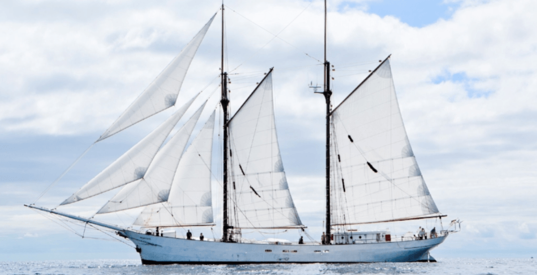 A 1920s schooner has arrived at the Port of Montreal (PHOTOS)