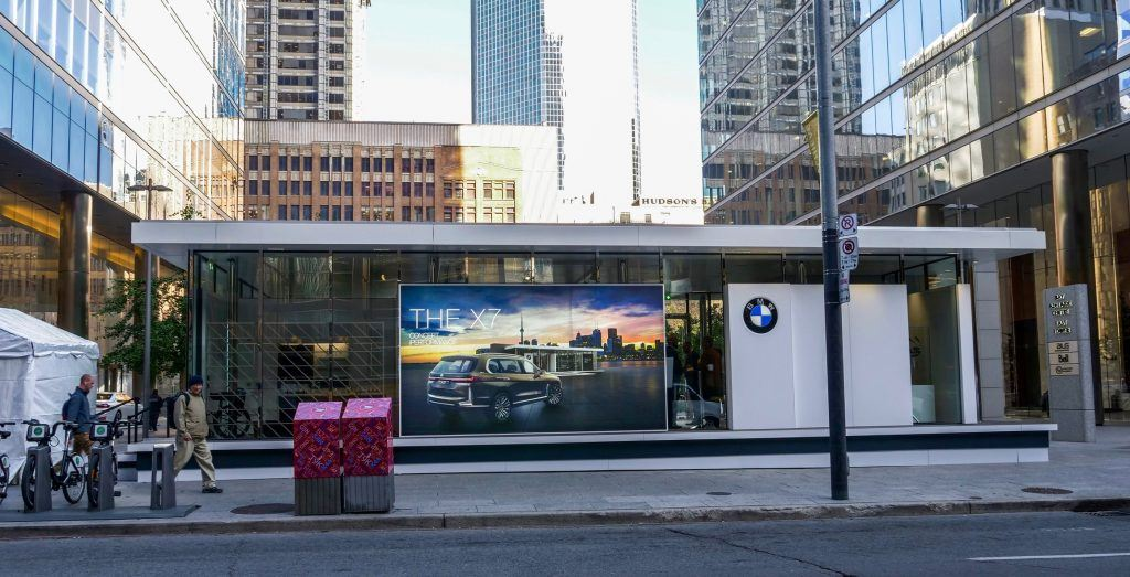bmw pop-up