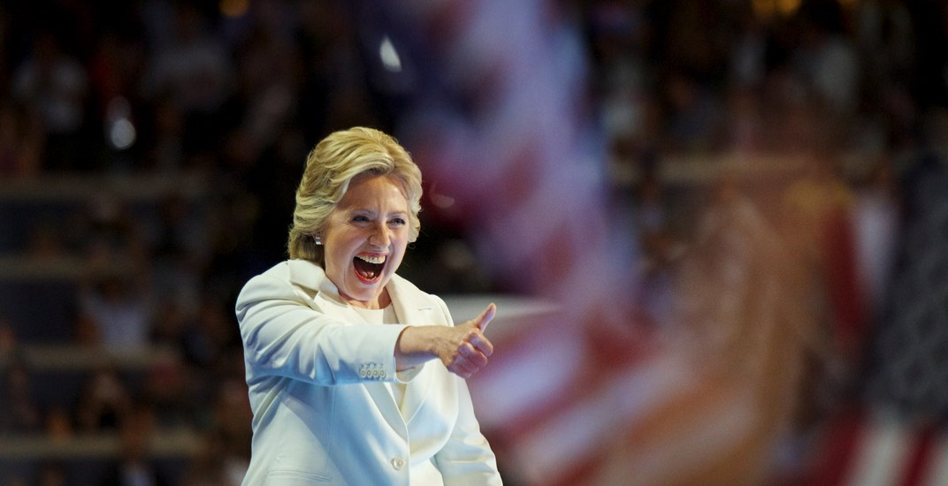 Hillary Clinton will be in Montreal next week for her book tour