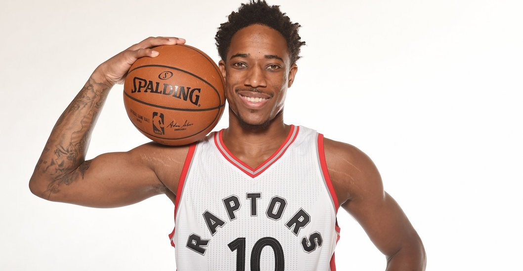 Raptors' DeRozan named starter for NBA All-Star Game