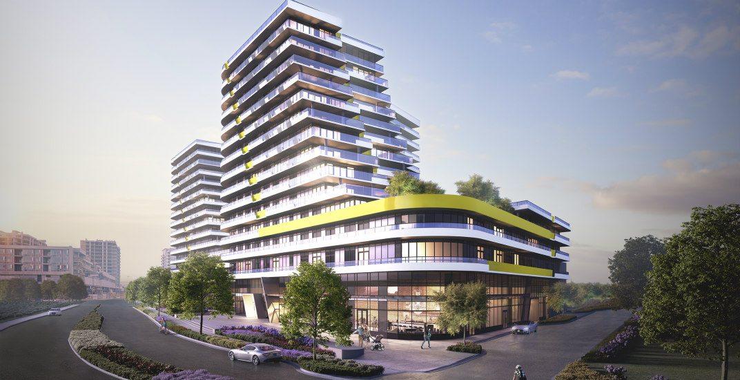 Building exteriorcascade city