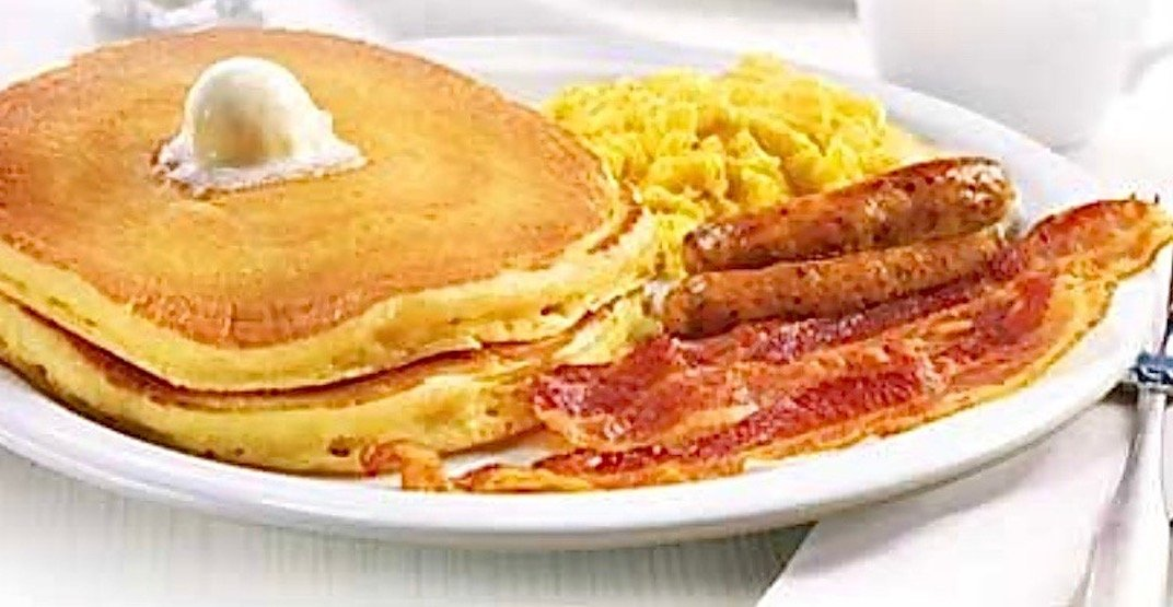 Celebrate the re-opening of Denny's on Davie with 99¢ Grand Slams