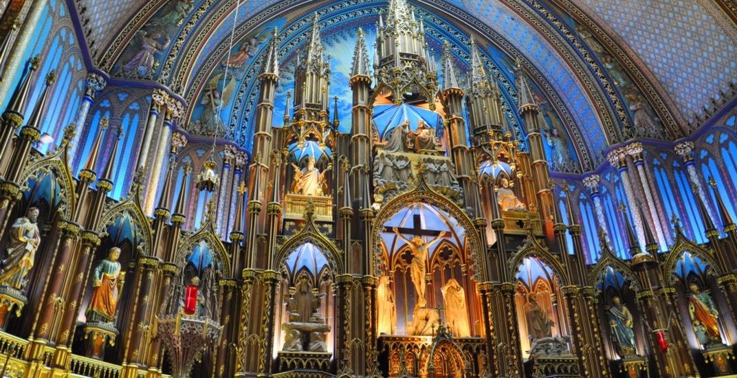 Montreal's Notre Dame Basilica hosting a Mozart concert this November