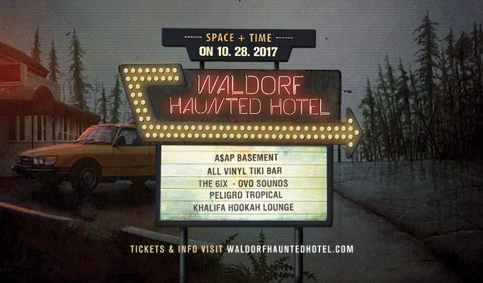 The Waldorf Hotel Is Hosting A 5 Room Haunted Hotel Party