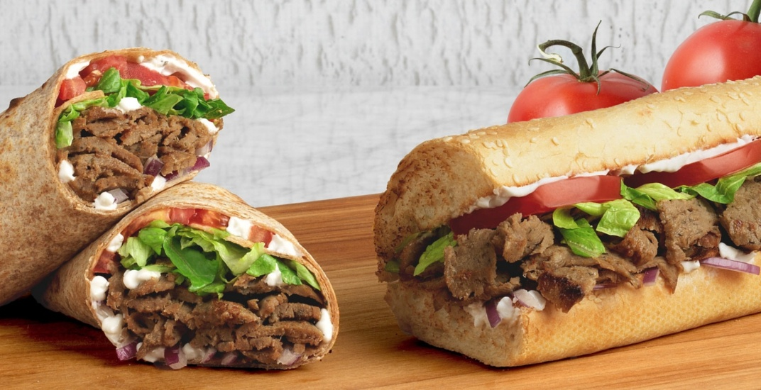 Quiznos is giving away free gyros across Canada next week
