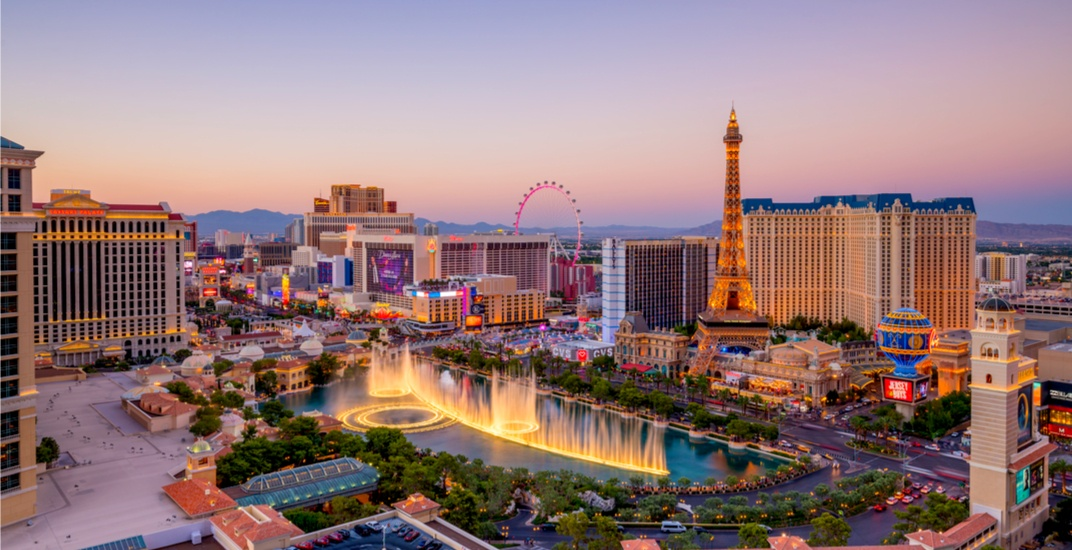 You can fly from Hamilton to Las Vegas for $310 return this winter