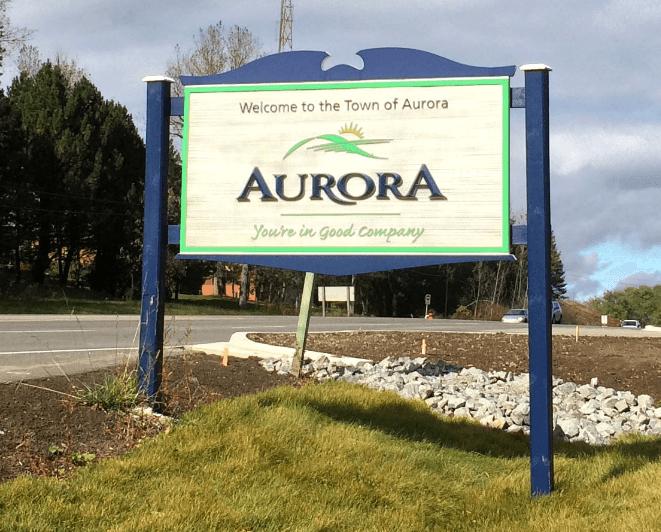 Aurora slogan
