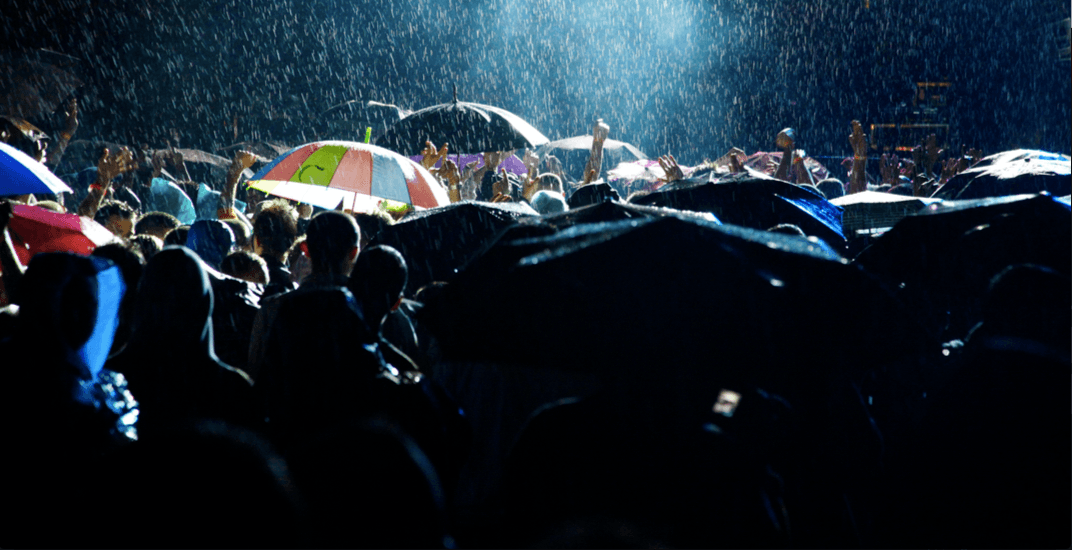 Celebrate Vancouver's rain at an upcoming umbrella party
