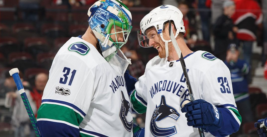 No Vancouver, this isn't a goaltending controversy