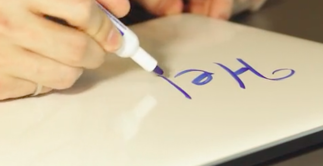 Vancouver company creates 'portable whiteboard' for laptops