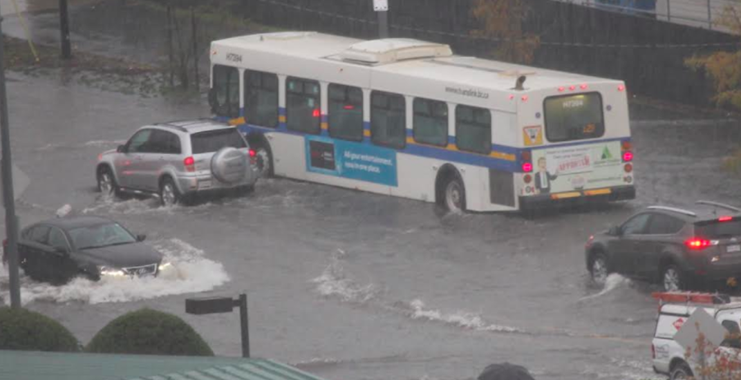 Torrential rainfall causing flooding in Metro Vancouver again (PHOTOS)