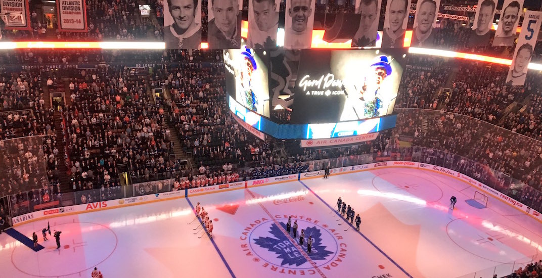 Maple Leafs honour Gord Downie with unique 50 Mission Cap tribute (VIDEO)