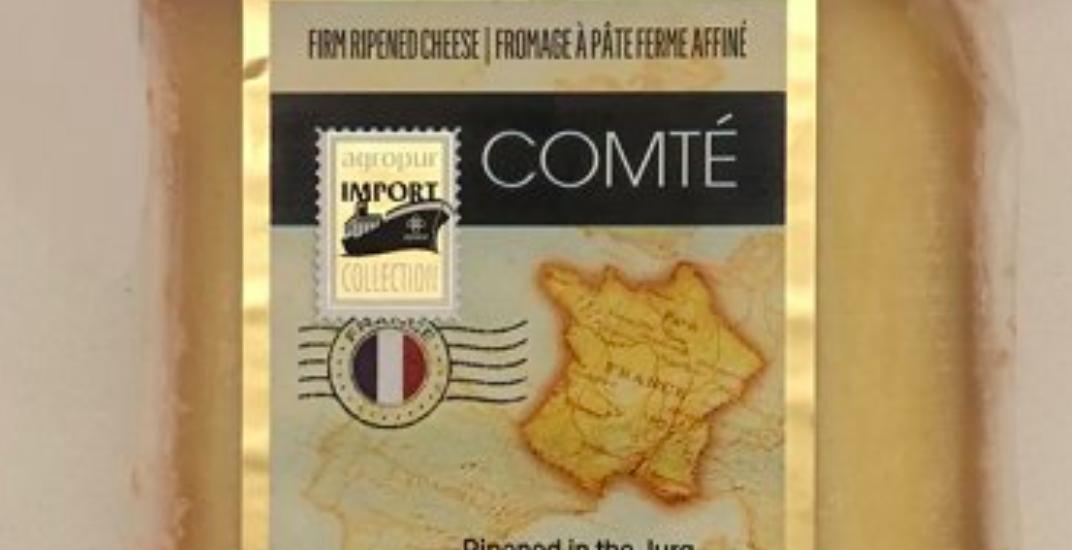 Agropur Comté cheese recalled across Canada due to listeria