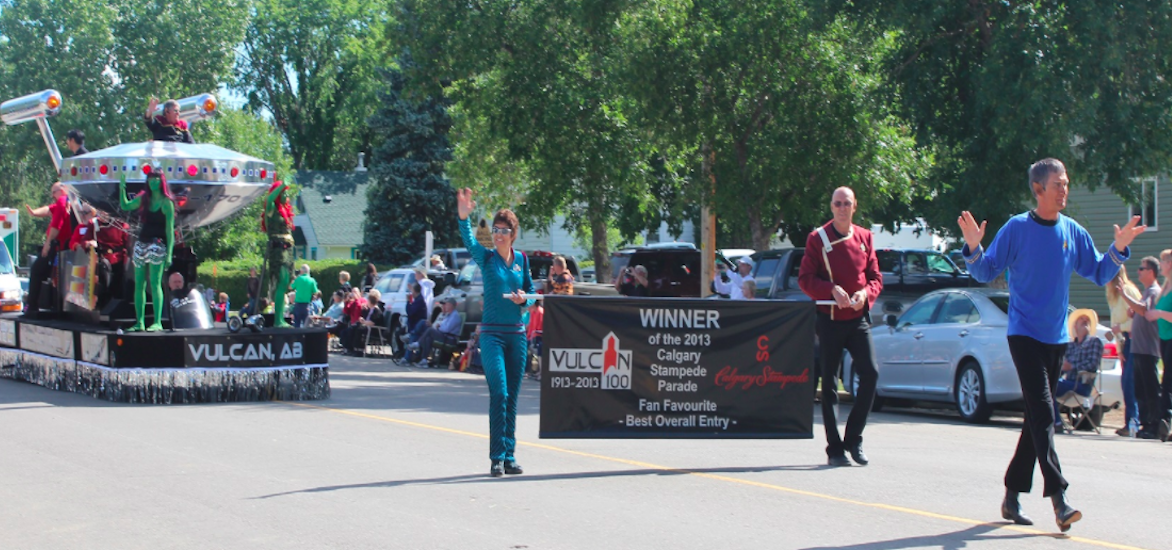 There's a town in Canada called Vulcan and it's as 'Star Trek' as you hope