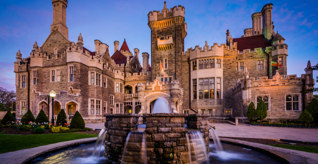 Casa Loma has been voted the best historic site in Ontario