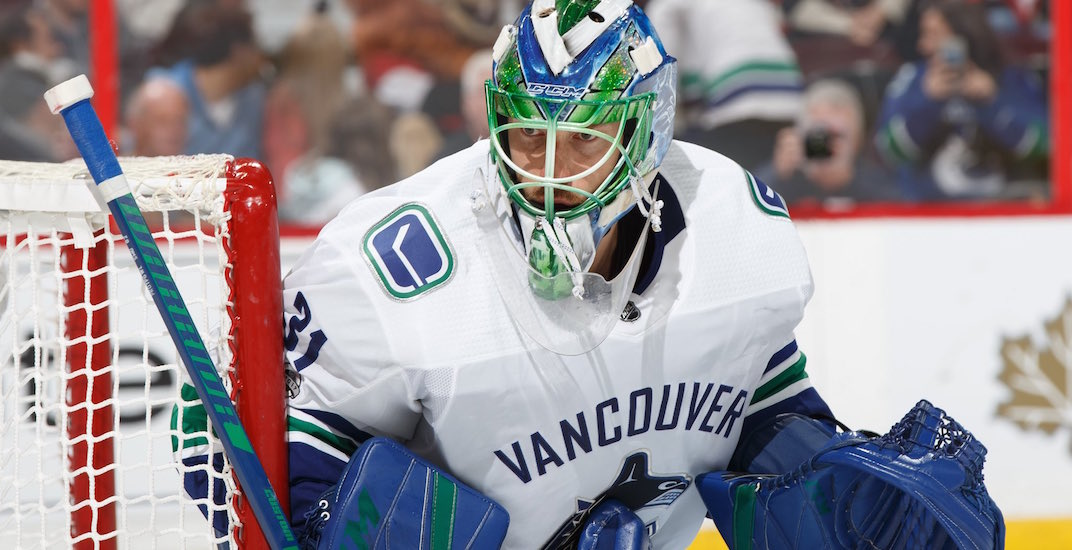 Canucks anders nilsson