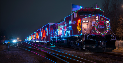 Christmas train Holiday train