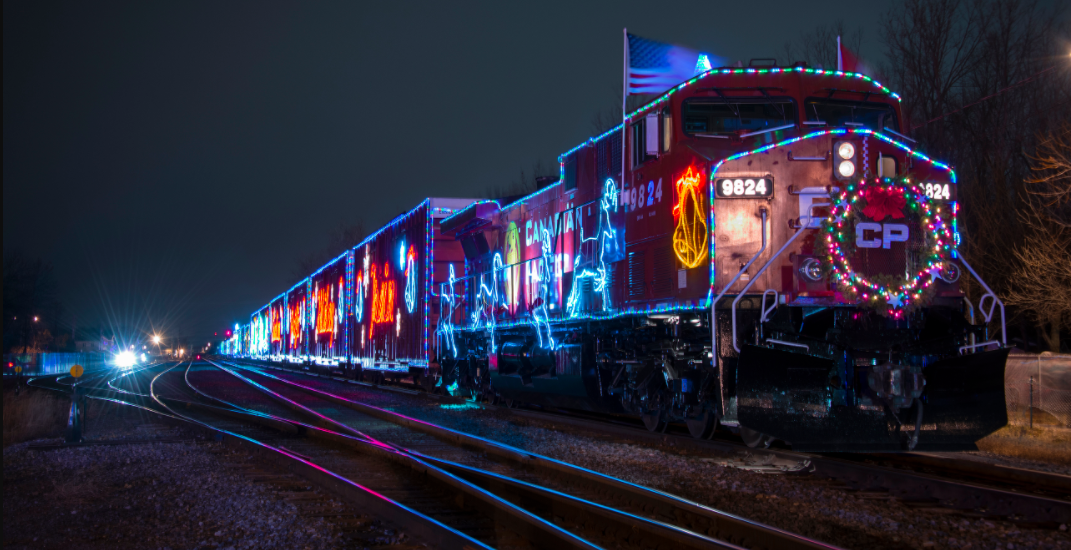Canada's magical Christmas train confirms it will return to Montreal this year