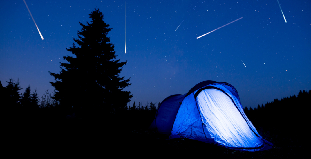 Meteor shower to light up above Canada all weekend long