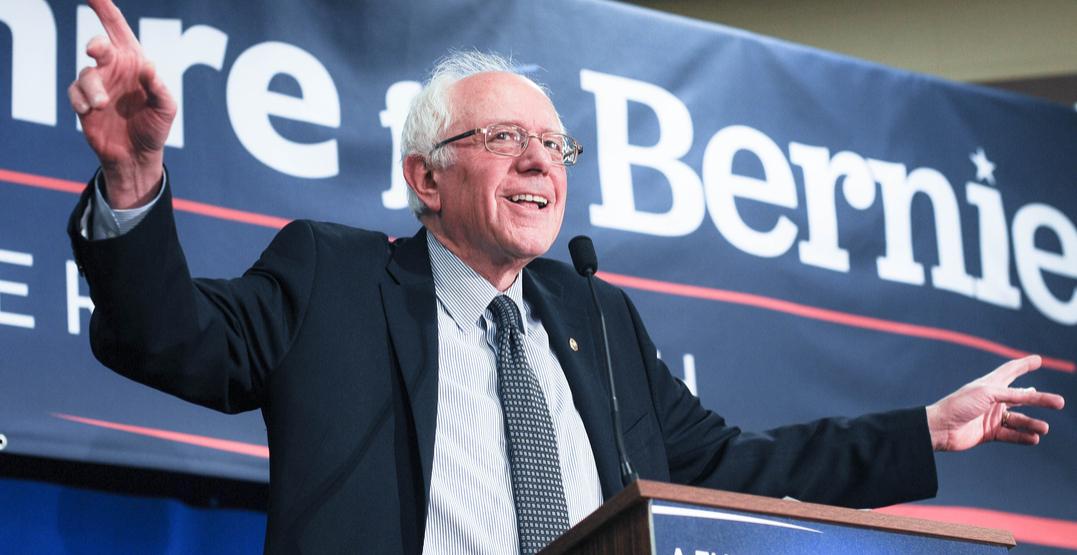 Bernie Sanders is coming to Toronto next week
