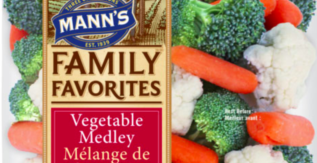 Several bagged vegetables products recalled due to Listeria contamination