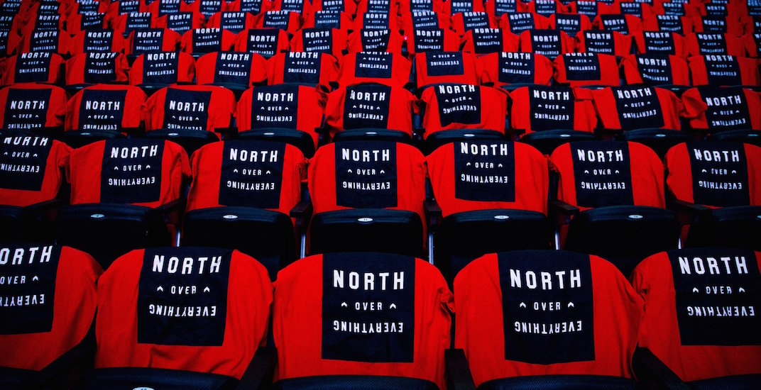 Did the Raptors change their 'We The North' slogan?