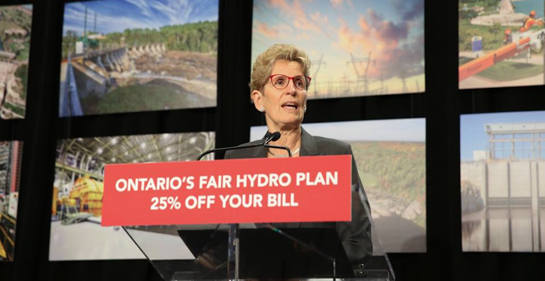 Premiere Kathleen Wynne is suing Ontario Conservative Leader Patrick Brown