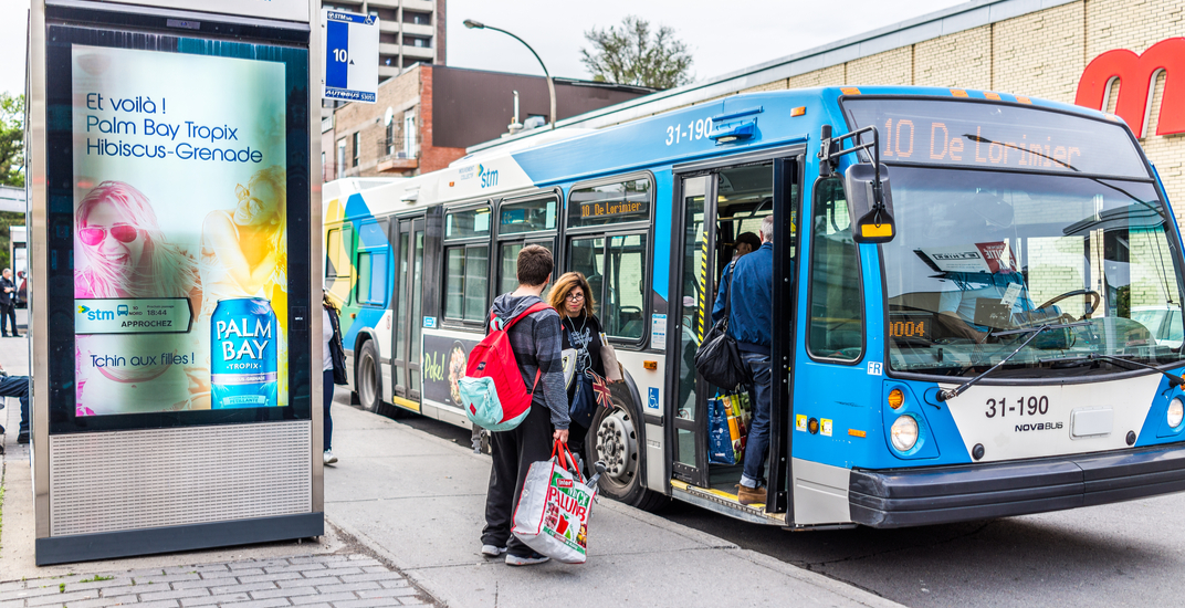 Real-time tracking now officially available for all STM bus users