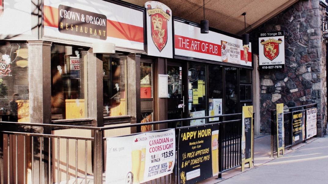 Crown and Dragon Restaurant pub