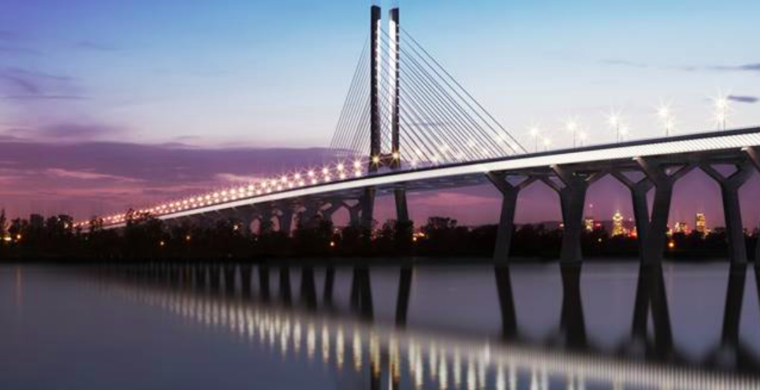 Workers scramble to complete new Champlain Bridge on time