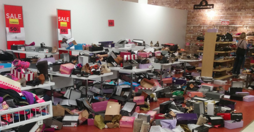 Sears liquidation sales lead to stores being trashed (VIDEO)