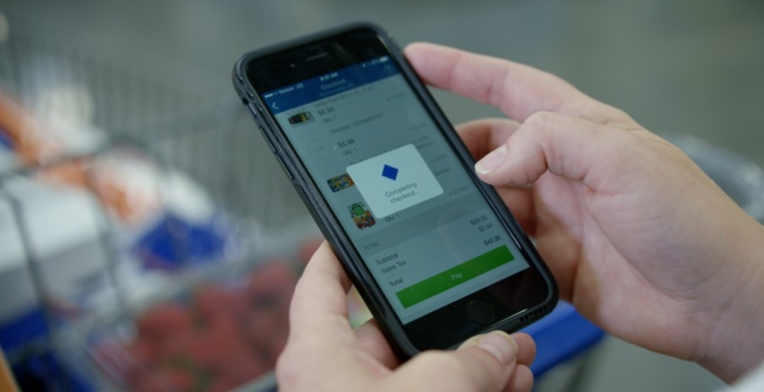 Walmart has introduced Scan & Go at stores across Canada