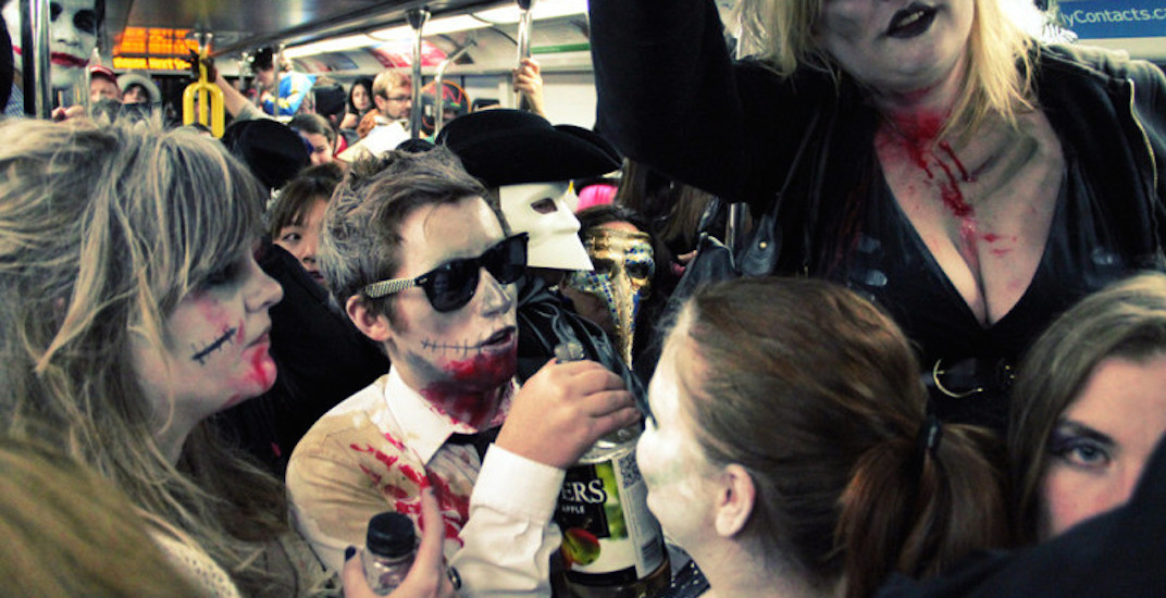 Get on the party train: Halloween SkyTrain Party returns for 2017