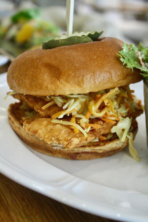 Biloxi Buttermilk Fried Chicken Sandwich from Honey Salt (Hanna McLean/Da