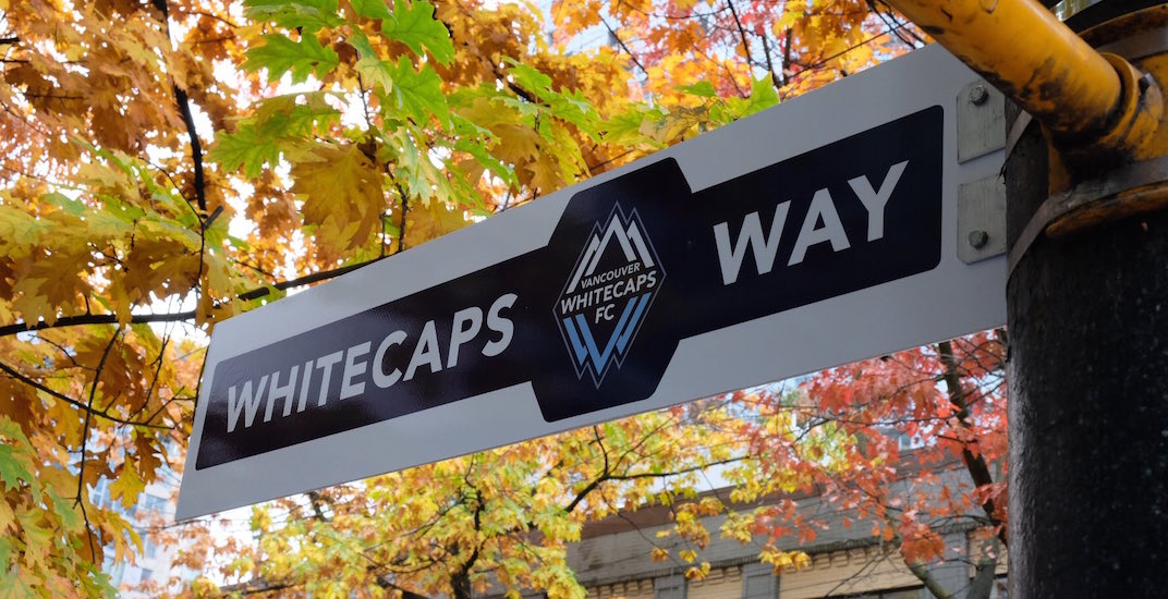 Vancouver mayor renames Robson Street 'Whitecaps Way' for playoffs