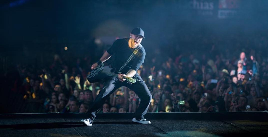 Brantley Gilbert 2018 show at Calgary's Grey Eagle Event Centre