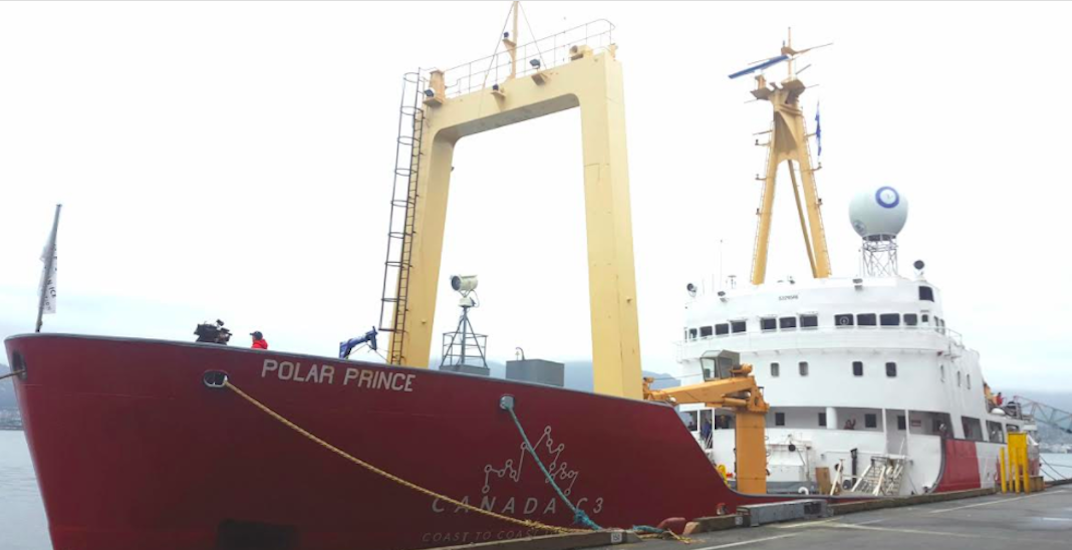 Canadian icebreaker docks in Vancouver during special voyage (PHOTOS)