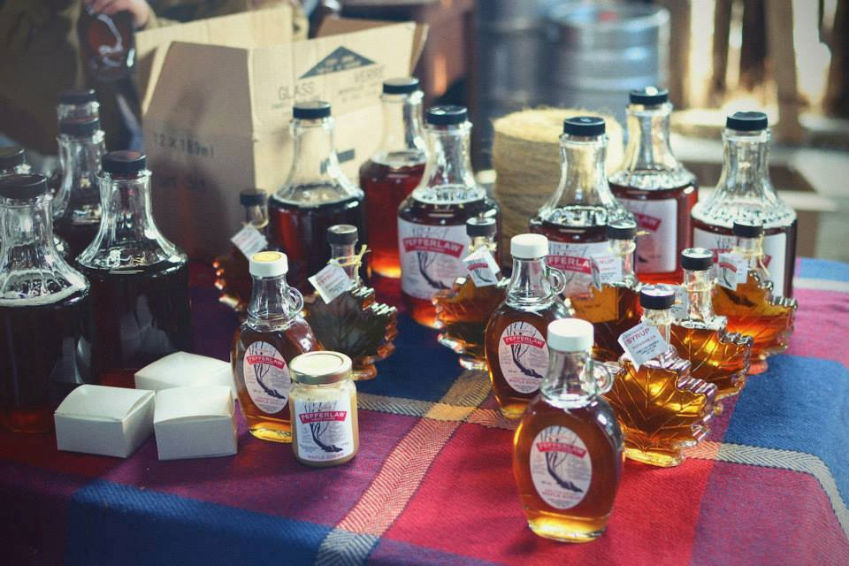 Pefferlaw Creek Farms Maple Syrup