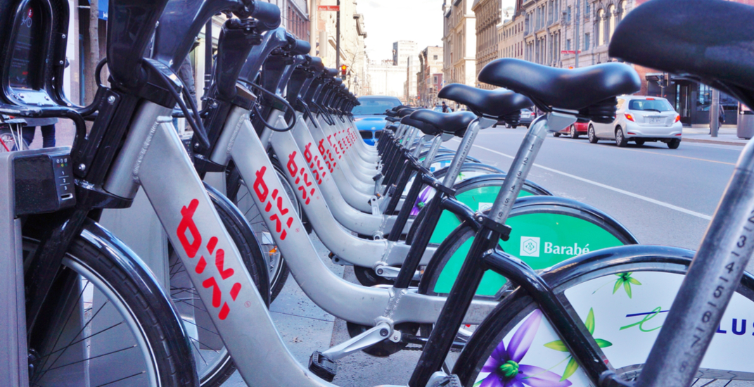 Montreal BIXI bikes are now equipped with a new laser light system